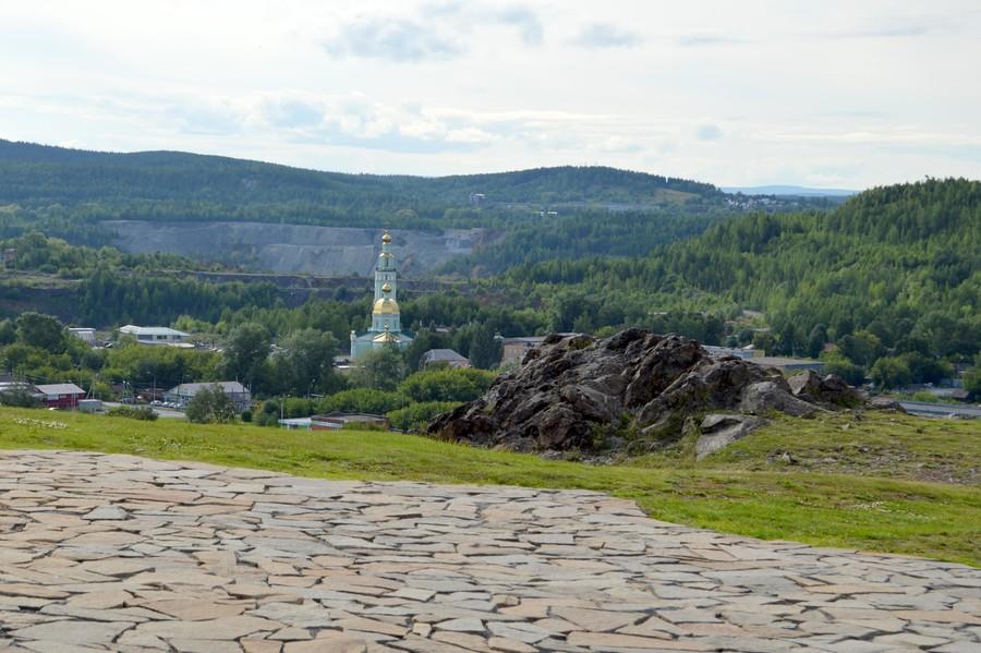 Вид на Нижний Тагил с Лисьей горы
