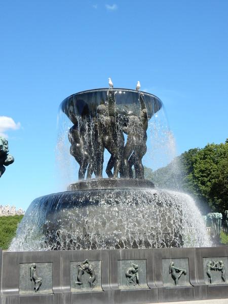 Осло. Парк скульптур Вигелана