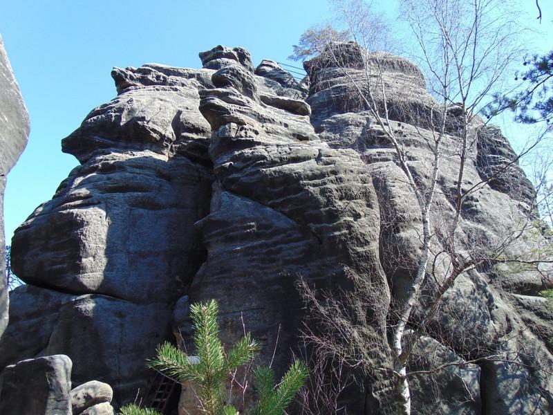 Каменный город возле чешского города Теплице