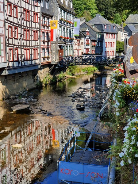 Немецкий город-музей Моншау