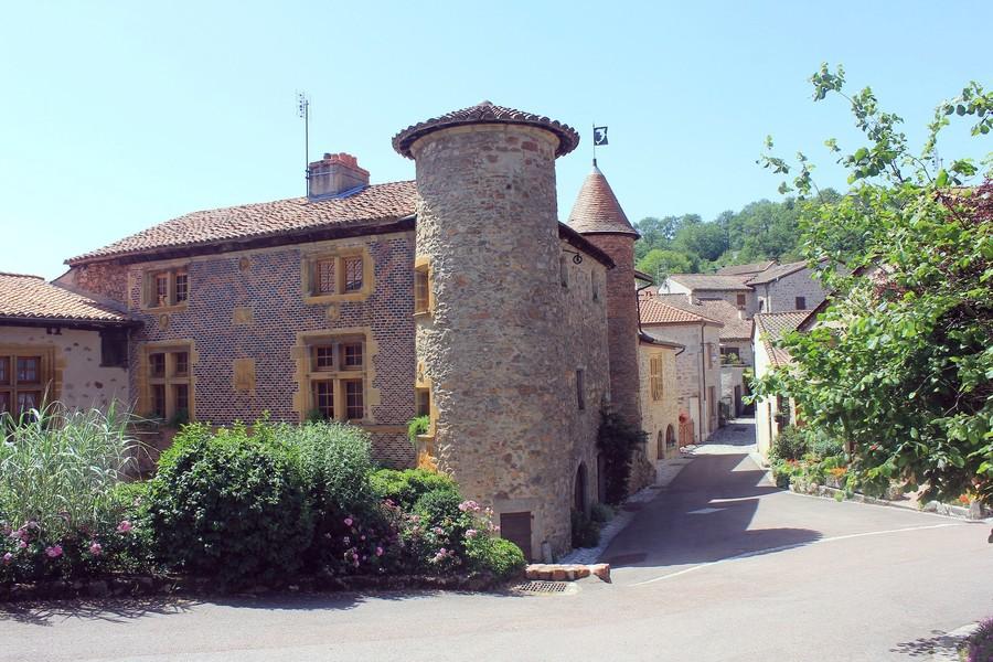Французская коммуна Ле Кроз