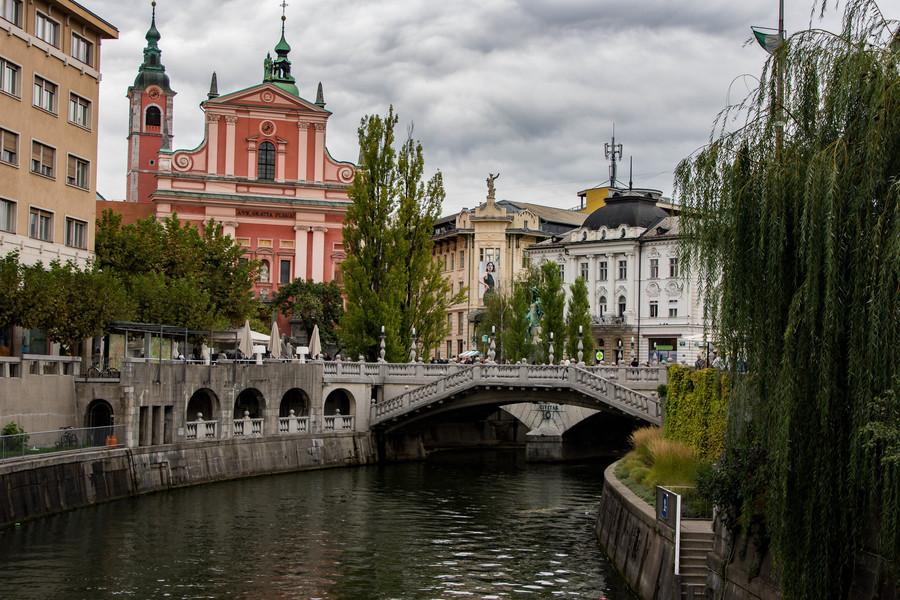 Осенняя Любляна