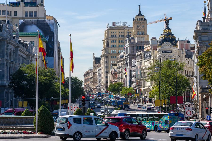 Мадрид. Немного фото испанской столицы
