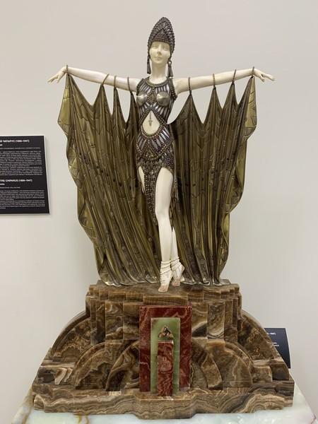 Музей Ар Деко. Коллекция статуэток скульптора Дмитрия Чипаруса