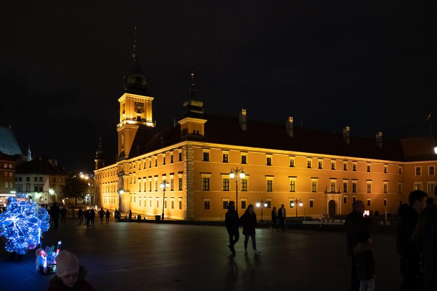 Атмосфера праздника в Варшаве
