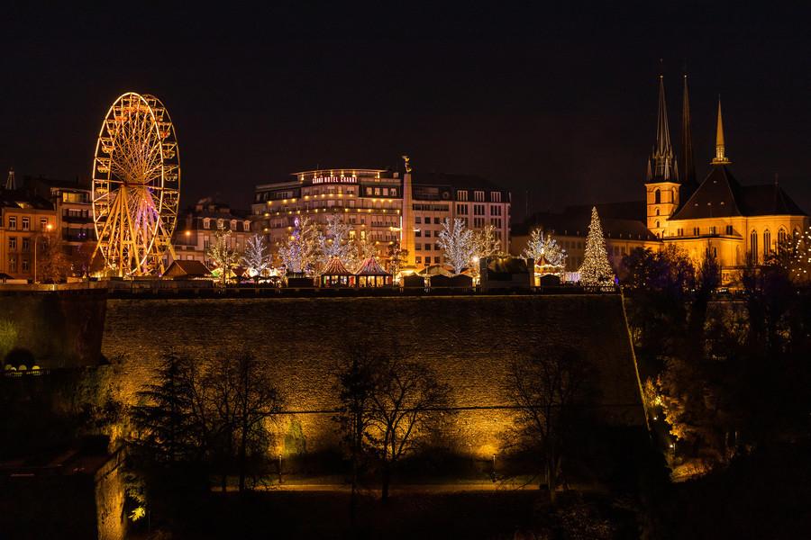 Рождественская ярмарка в Люксембурге