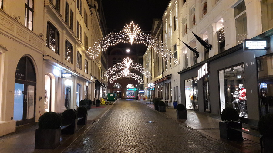 Центр Осло. Конец ноября 2019