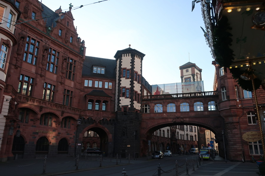 Франкфурт в ожидании праздника