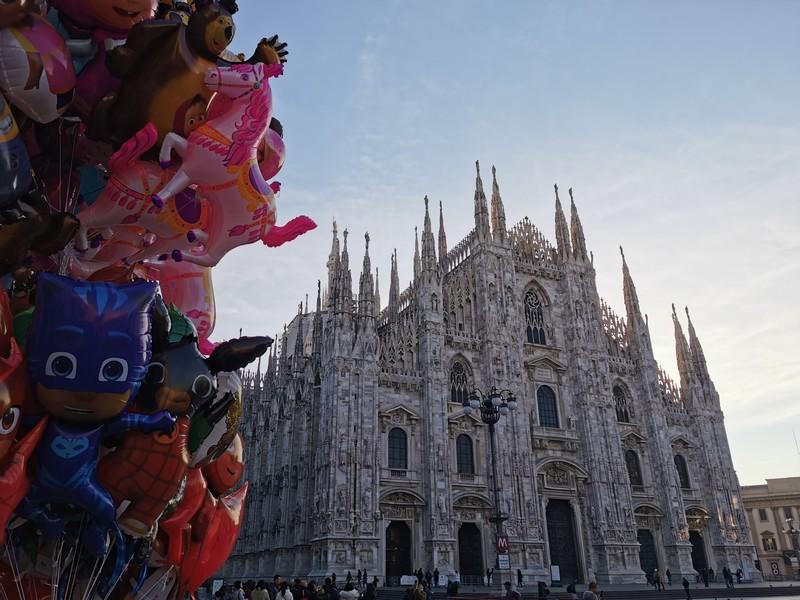Милан на праздниках
