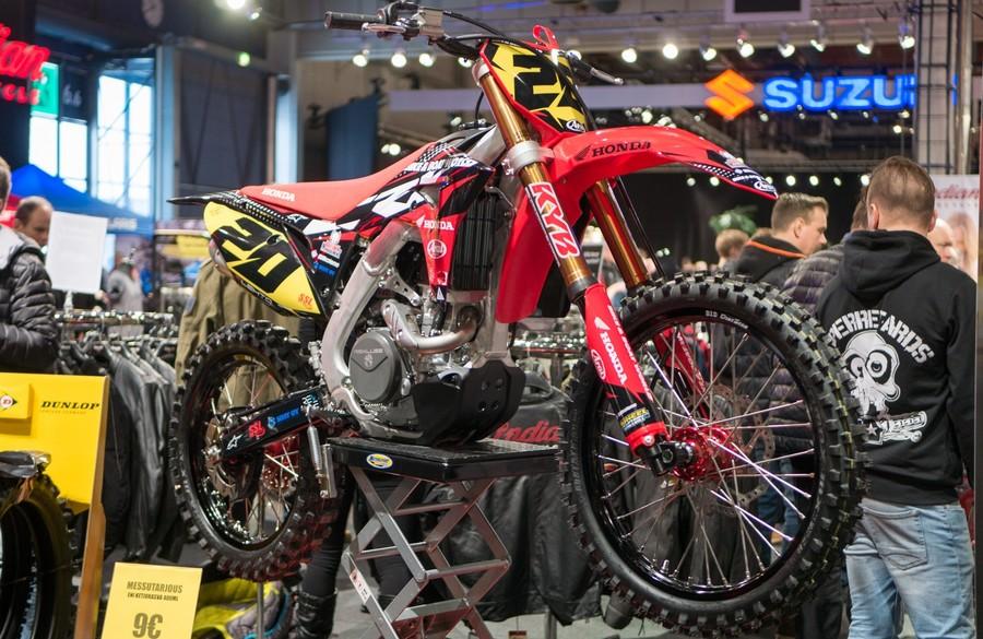 Выставка мотоциклов в Хельсинки - Motorbike expo
