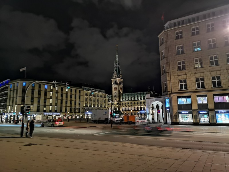 Гамбург вечером