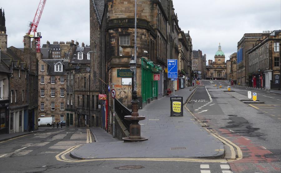 Эдинбург прямо сейчас