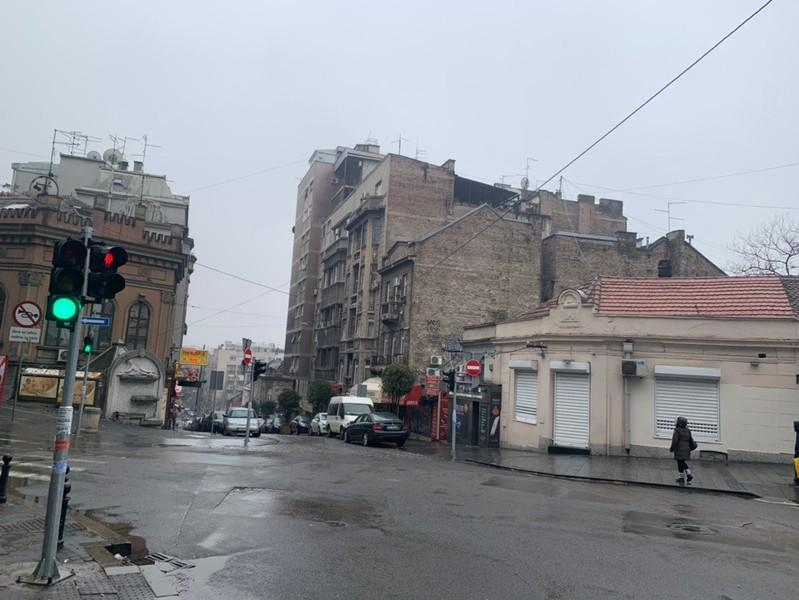 Белград. Поездка в Сербию прошлой зимой