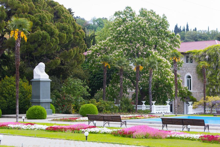 Никитский ботанический сад в Ялте, Крым