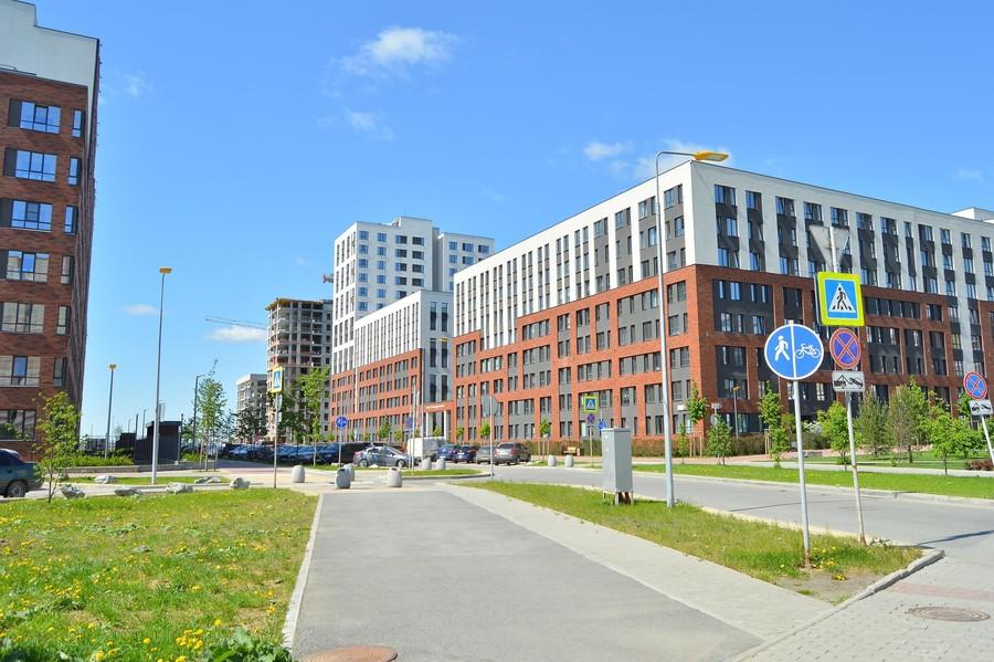 Район Солнечный рядом с Екатеринбургом на европейский лад