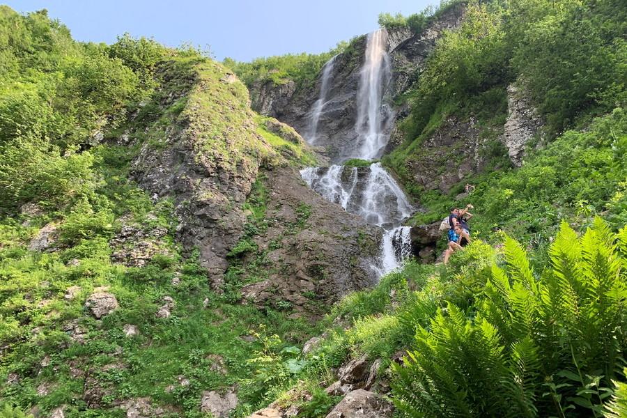Водопад Паликаря. Красная Поляна. Сочи