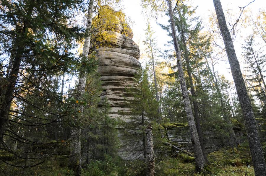 Национальный парк Таганай. Пизанская башня