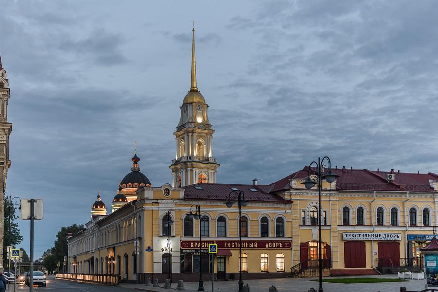 Город Рыбинск в Ярославской области