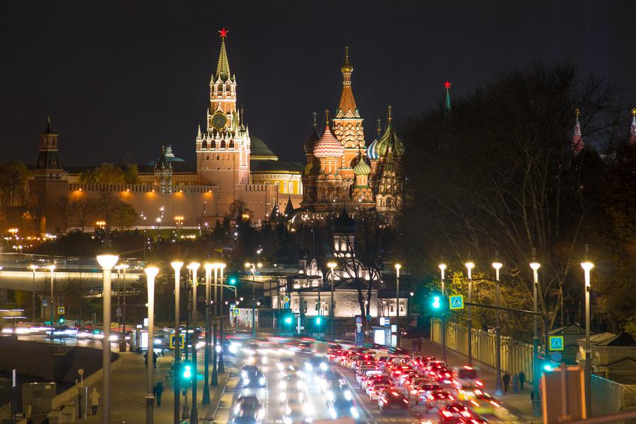 Красоты вечерней Москвы