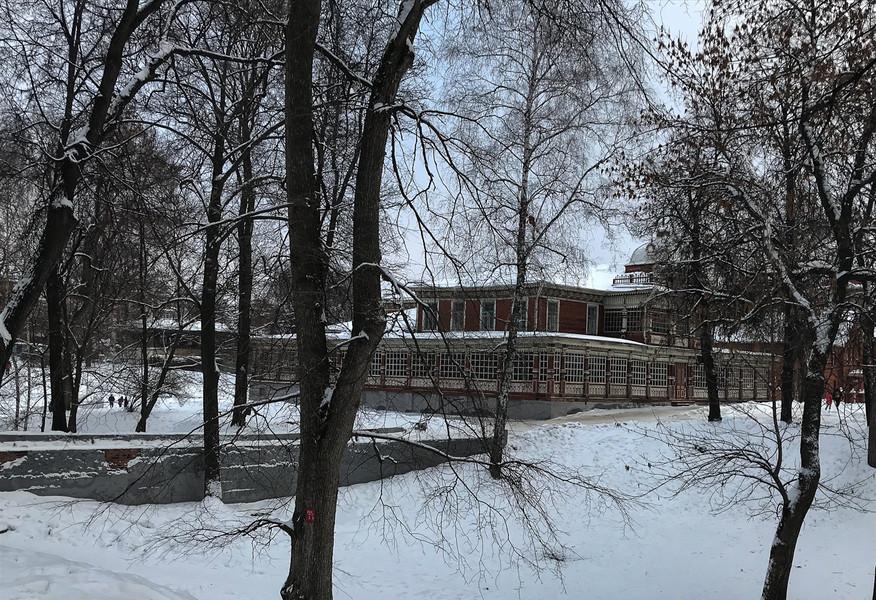 Зимняя Рязань до короновируса