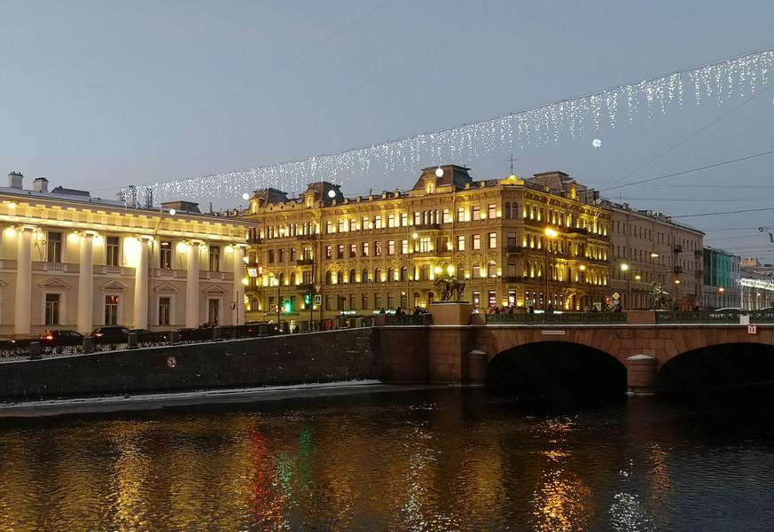 Санкт-Петербург. Приближение праздника