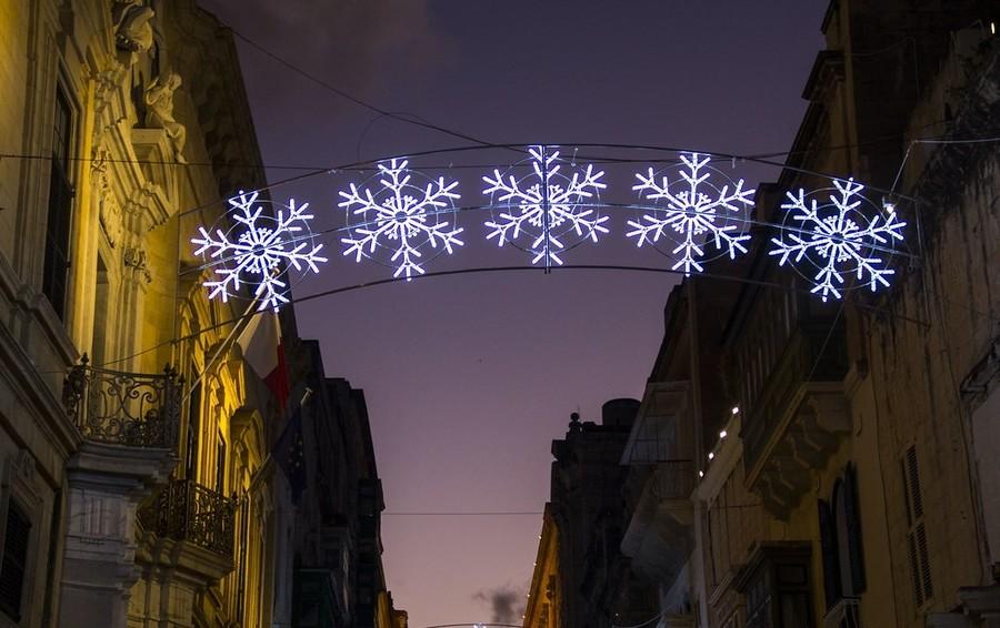 Рождество на Мальте. Валлетта
