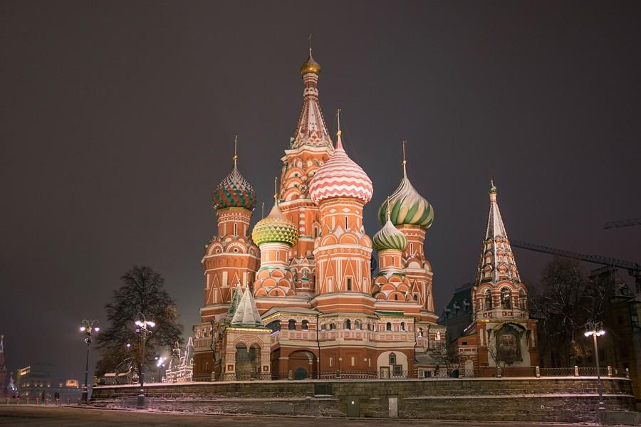 Прогулка по ночной Москве