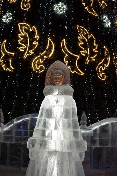 Замерзший Тобольск