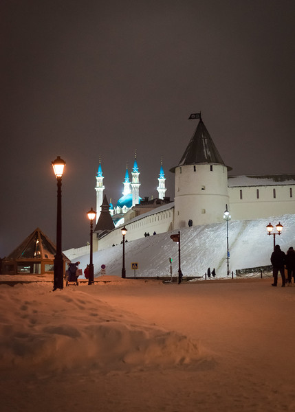 Новогодняя Казань. Казанский Кремль