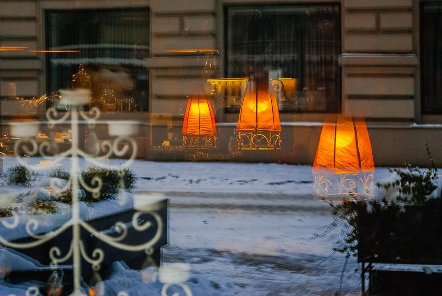 Зимняя Рига. январь 2021