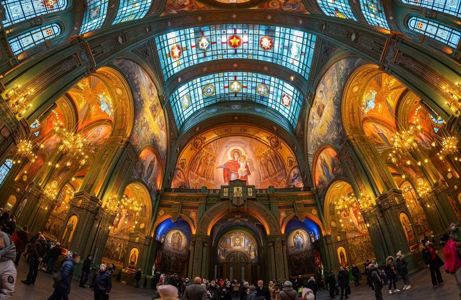 Собор Воскресения Христова - Главный храм Вооружённых Сил России