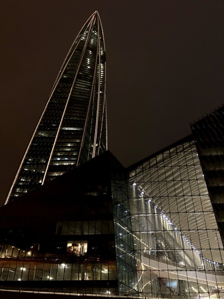 """Лахта Центр"" – самая высокая башня Санкт-Петербурга"