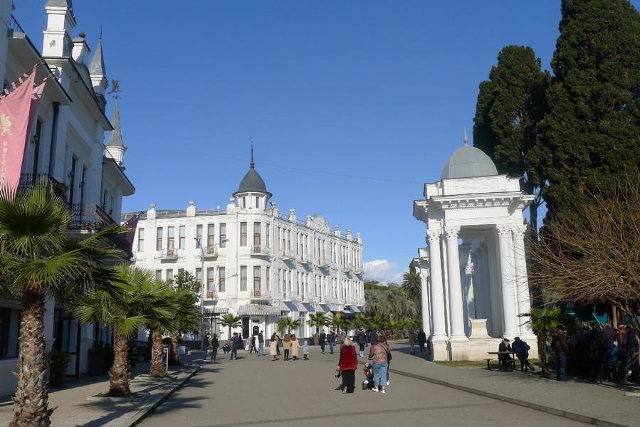 Абхазия. Март. Часть II