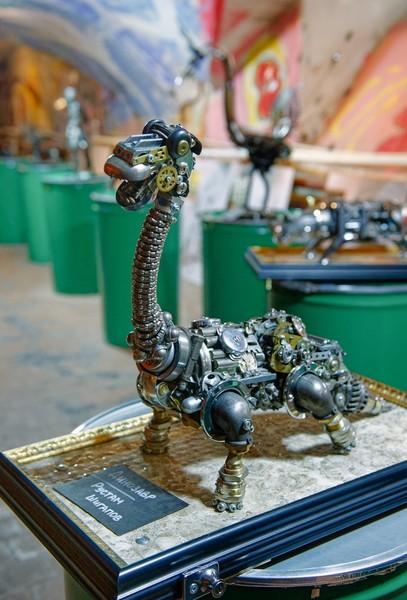 Музей стимпанка в катакомбах Петрикирхе