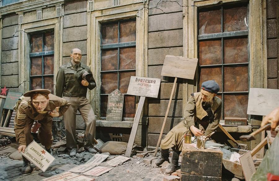 Трехмерная панорама про историю Великой Отечественной войны. Панорама Память говорит. Дорога через войну