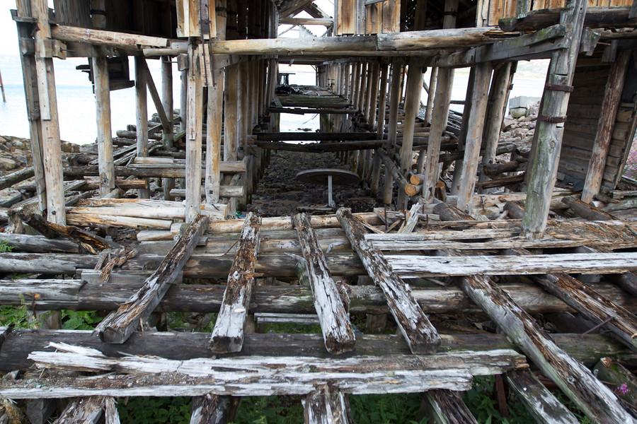 Териберка. Кольский полуостров