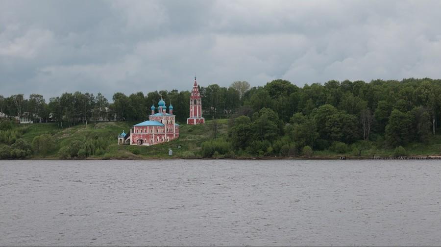 Город Тутаев на Волге