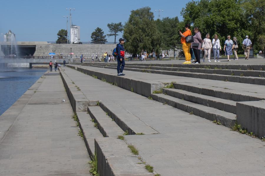 Лето в Екатеринбурге