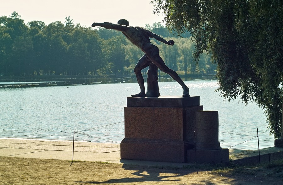 Екатерининский парк. Город Пушкин