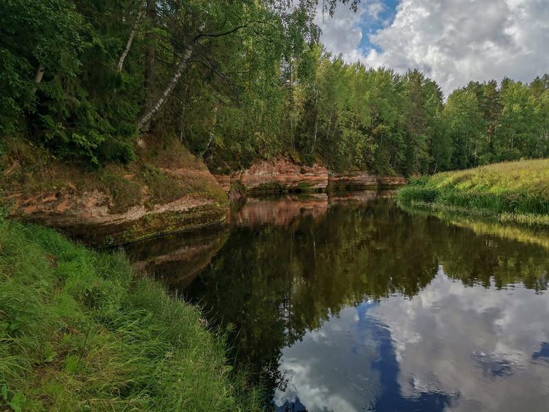 Реки Лемовжа и Оредеж