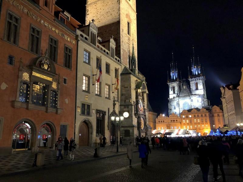 Прага на рождество. декабря 2019