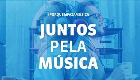 Campanha #JuntosPelaMusica