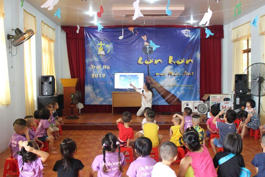 Lớp 3-4 tuổi