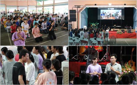 Trại hè 2020 ngày thứ hai - Thiếu niên nhóm lại buổi chiều