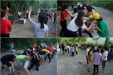 Trại hè 2020 ngày thứ hai - Thanh niên nhóm lại tôn vinh CHÚA