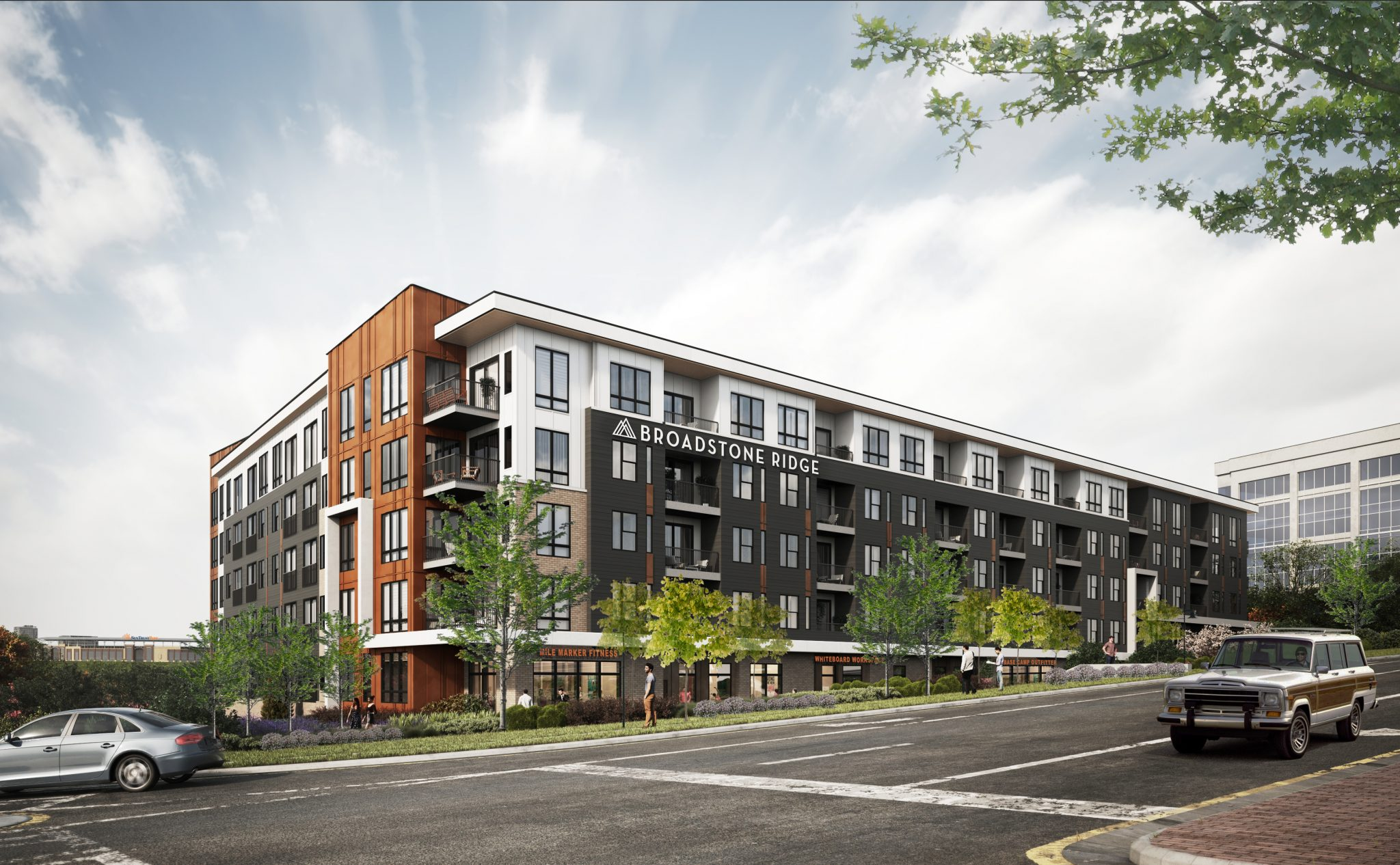 Broadstone Ridge Rendering