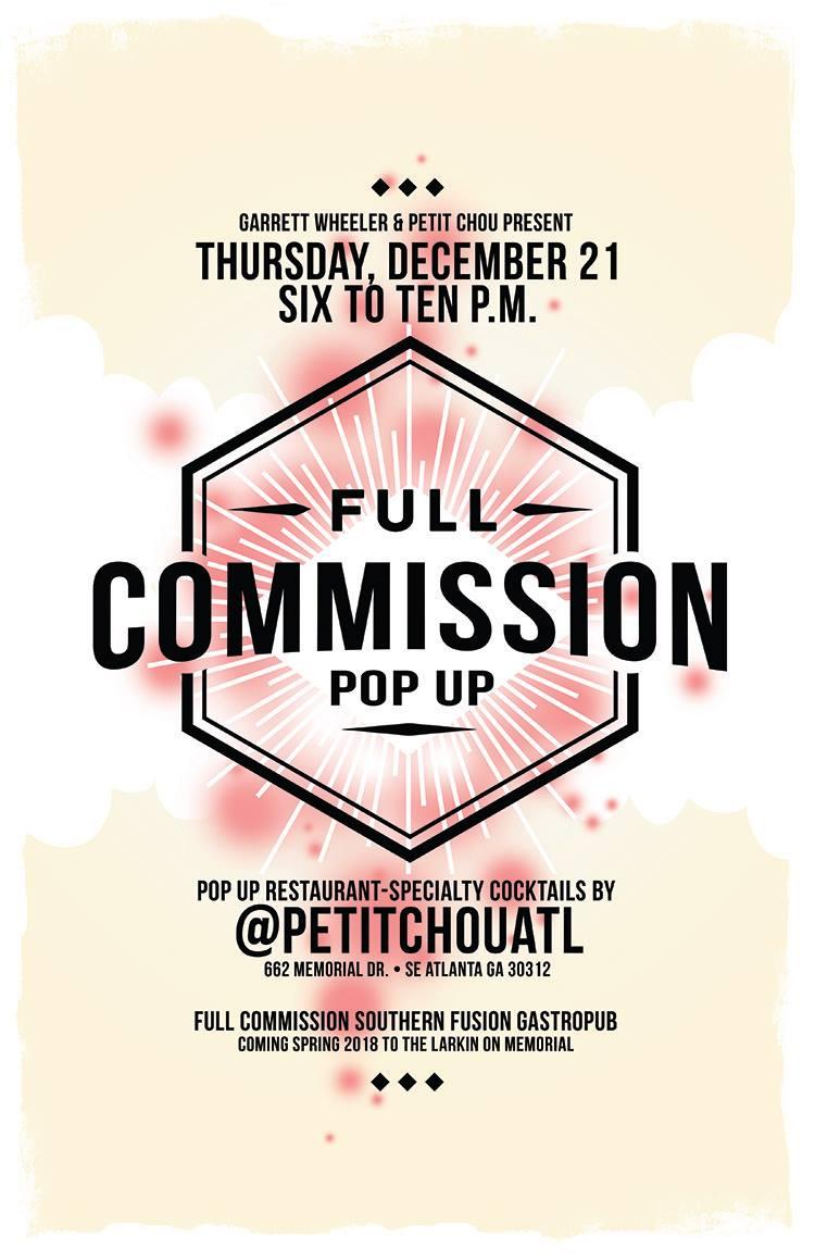 Full Commission Pop-Up