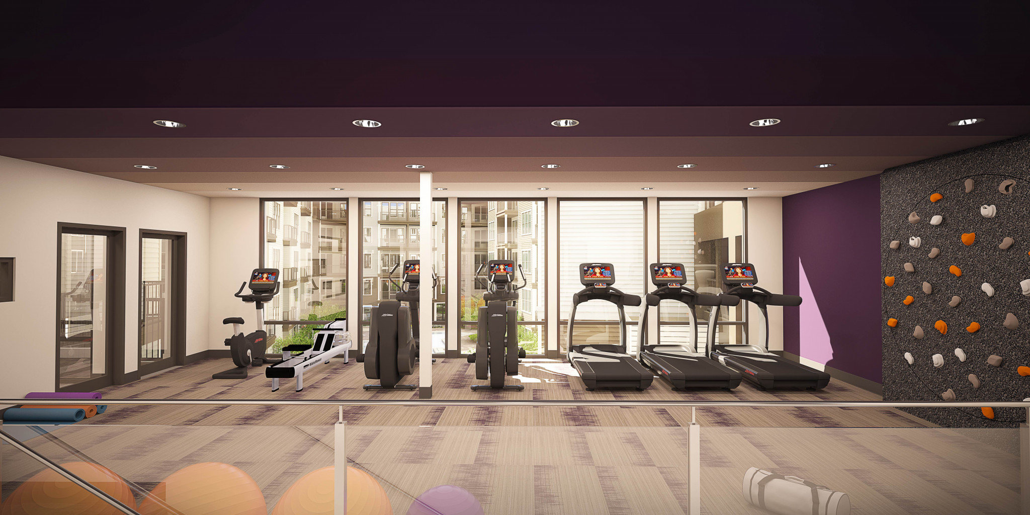 Helios Apartments Fitness Center