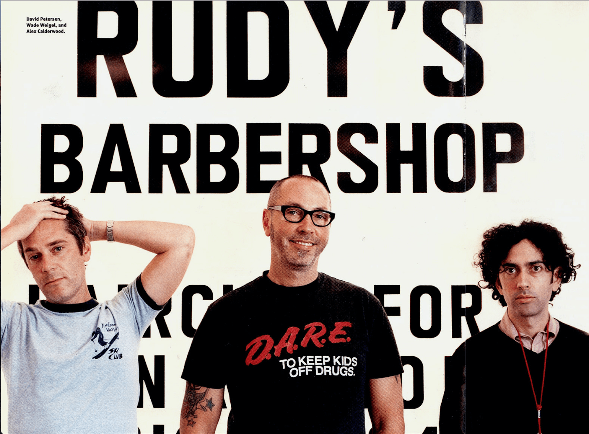 Rudy's Barbershop Founders