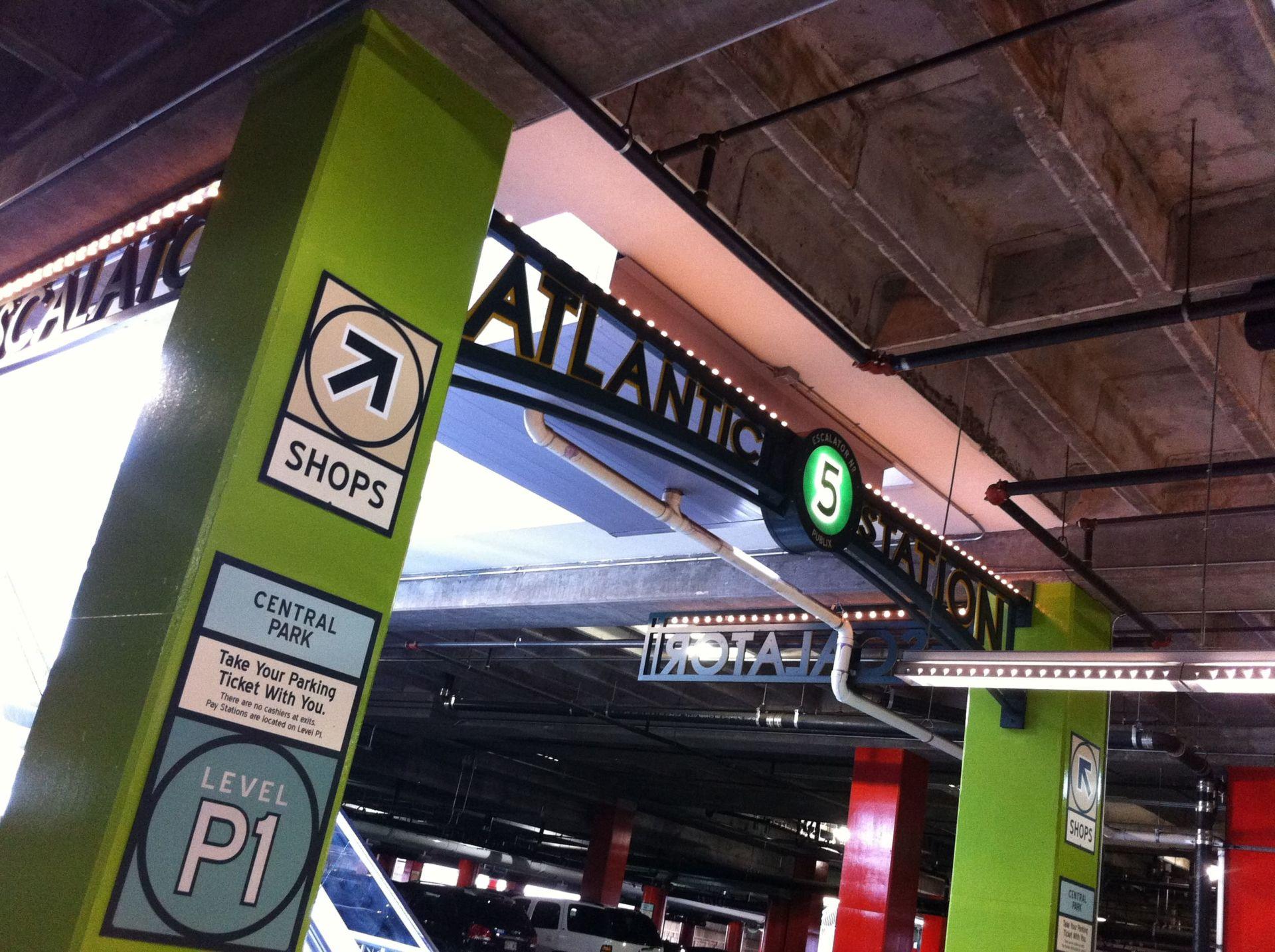 atlantic station parking program 2 ~ what now atlanta